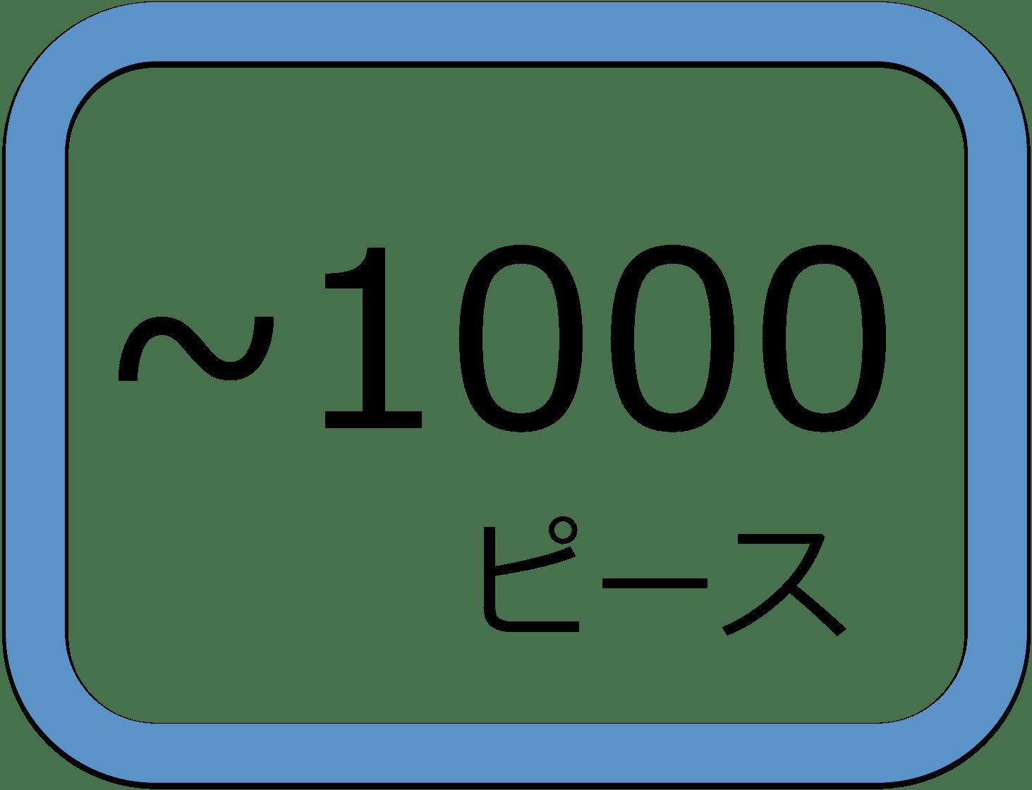 501?1000ピース